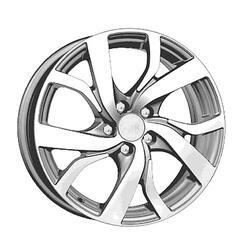 Автомобильный диск Литой K&K Палермо 6,5x16 5/114,3 ET 40 DIA 67,1 Блэк платинум