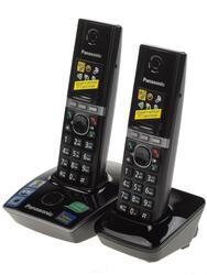 Телефон беспроводной (DECT) Panasonic KX-TG8052RUB