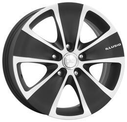 Автомобильный диск Литой K&K Иллюзио 6,5x16 5/112 ET 37 DIA 66,6 Алмаз блэк аурум