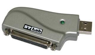 [176661] Адаптер ST-Lab U-370, USB to LPT25F
