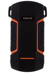 Портативный аккумулятор SENSEIT Z8 оранжевый, черный