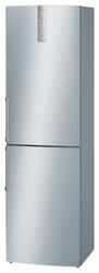 Холодильник с морозильником BOSCH KGN39AI20 серебристый