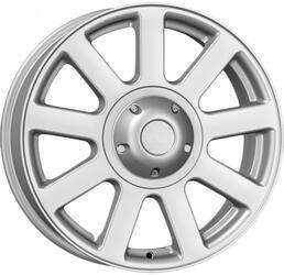 Автомобильный диск  K&K Ульзис 7x17 5/139,7 ET 35 DIA 108,5 Блэк платинум