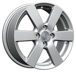 Автомобильный диск литой Replay GN41 6x15 4/100 ET 45 DIA 56,6 Sil