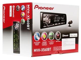 Автопроигрыватель Pioneer MVH-X560BT