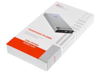 Портативный аккумулятор InterStep PB20800 черный