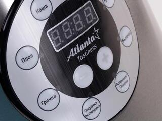 Мультиварка Atlanta ATH-593 серебристый, черный