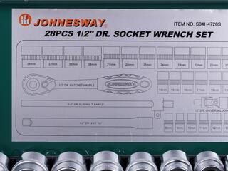 Набор торцевых головок Jonnesway S04H4728S