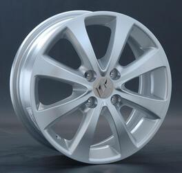 Автомобильный диск литой Replay RN52 6x15 4/100 ET 43 DIA 60,1 Sil