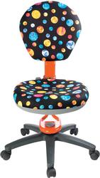 Кресло для детской комнаты BURO KD-5/Or/Planety