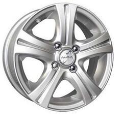 Автомобильный диск Литой K&K Стрела 5,5x14 4/98 ET 40 DIA 58,6 Сильвер