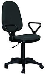 Кресло офисное ДЭФО Престиж GTS серый