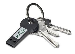 Память USB 2.0 LaCie LabelKey 8 Gb