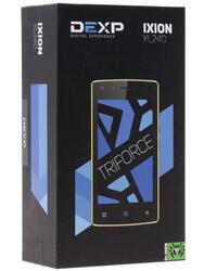 "4"" Смартфон DEXP Ixion XL240 Triforce 8 ГБ белый"