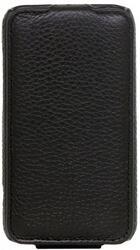 Чехол-книжка CLEVER SHELLCASE для Samsung I8160 GALAXY Ace 2  кожа/черный