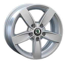 Автомобильный диск литой Replay SK56 6x15 5/100 ET 43 DIA 57,1 Sil