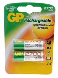 Аккумулятор GP 270AAHC-UC2 PET-G 2600 мАч