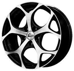 Автомобильный диск литой iFree Тортуга 7x17 5/100 ET 38 DIA 67,1 Блэк Джек