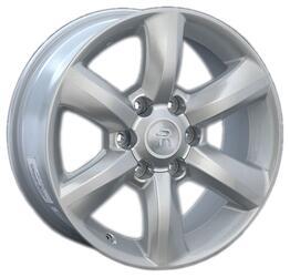 Автомобильный диск литой Replay LX50 7,5x18 6/139,7 ET 25 DIA 106,1 Sil