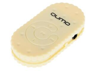 MP3 плеер Qumo Biscuit бежевый