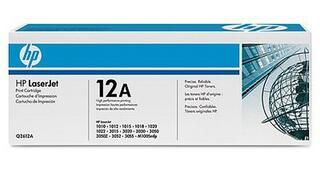 Картридж лазерный HP 12A (Q2612AF)