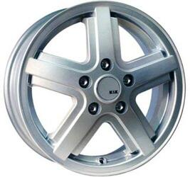 Автомобильный диск Литой K&K Дуэт 6x15 5/139,7 ET 45 DIA 101 Сильвер