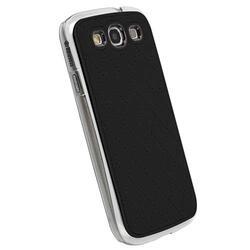 Чехол Krusell AVENYN MOBILE UNDERCOVER для Samsung I9300 Galaxy S III(89682), искусственная кожа, черный