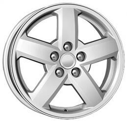 Автомобильный диск Литой K&K КС503 6x15 5/100 ET 38 DIA 57,1 Сильвер