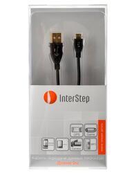 Кабель InterStep USB - micro USB черный
