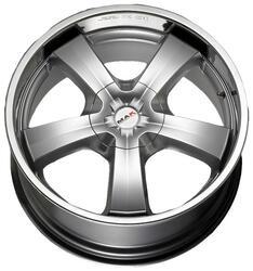 Автомобильный диск литой MAK G-Five 9x20 5/130 ET 35 DIA 84,1 Hyper Silver Steel Lip