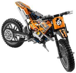 Конструктор LEGO Technic Кроссовый мотоцикл 42007