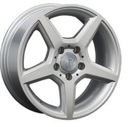 Автомобильный диск литой Replay MR46 7x16 5/112 ET 38 DIA 66,6 Sil
