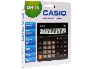 Калькулятор бухгалтерский CASIO DH-16-BK-S-EH