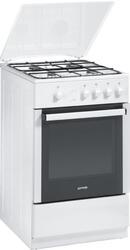 Газовая плита Gorenje G 51106 AW белый