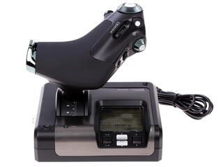 Джойстик Saitek X52 Pro Flight Control System черный