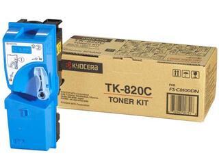 Картридж лазерный Kyocera TK-820C