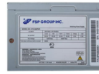 Блок питания FSP PNR 550W [ATX550-PNR]