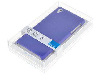 Накладка + защитная пленка  Deppa для смартфона Sony Xperia Z2
