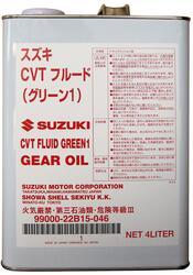 Трансмиссионное масло Suzuki (Orig.Japan) CVTF Green1 99000-22B15-046