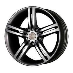 Автомобильный диск литой MAK Veloce Italia 7,5x17 5/112 ET 30 DIA 76 Ice Black