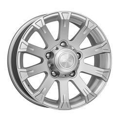 Автомобильный диск литой K&K Байкал 7x16 5/139,7 ET 35 DIA 108,5 Сильвер