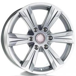 Автомобильный диск Литой Nitro Y660 6,5x16 5/139,7 ET 40 DIA 98,5 Sil
