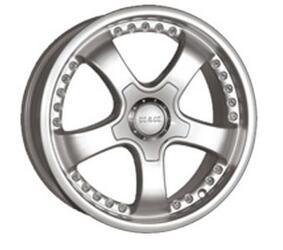 Автомобильный диск Литой K&K Тамерлан 6,5x15 5/112 ET 38 DIA 66,6 Блэк платинум