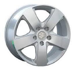 Автомобильный диск литой Replay SZ16 6,5x16 5/114,3 ET 57 DIA 71,6 Sil