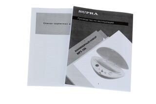 Набор для маникюра и педикюра Supra MPS-106