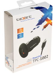 Автомобильное зарядное устройство teXet TPC-1002