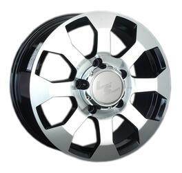 Автомобильный диск Литой LS 325 8x17 6/139,7 ET 38 DIA 67,1 BKF