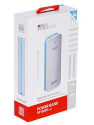 Портативный аккумулятор InterStep PB16800WB белый, голубой