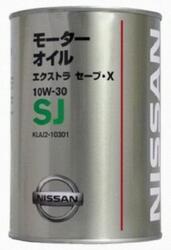 Моторное масло Nissan (Orig.Japan) Extra Save X 10W30 KLAJ2-10301