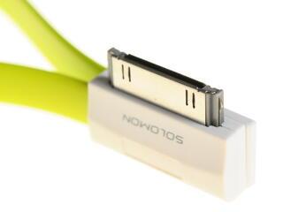 Кабель Solomon USB - 30-pin зеленый